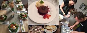 Schokoladendessert, Linz, Running Dinner, Phillip Burmester, Essen in Linz,