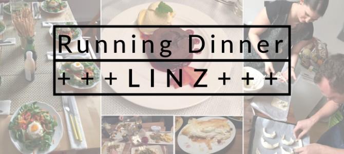 Erstes Running Dinner durch Linz