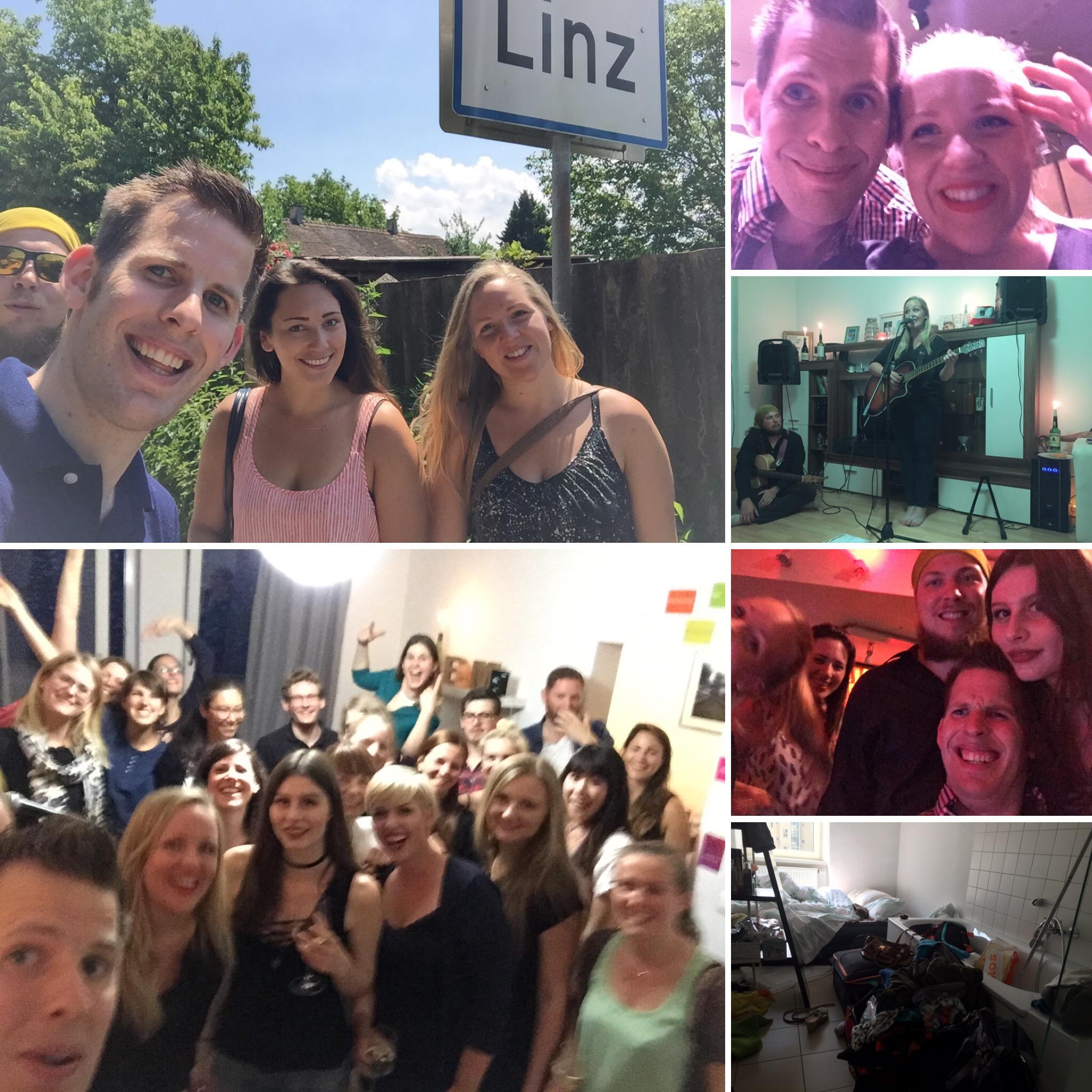 Wohnzimmerkonzert Phillip Burmester Digital Business Management Linz Sofa Concert