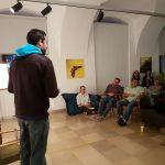 English poetry Reading, Living Poets Society, Linz, Phillip Burmester, International Graduates Club Linz,