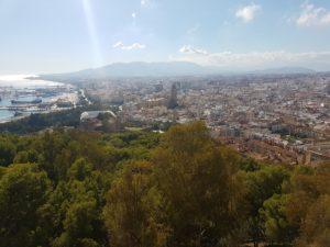 Übersicht auf Malaga