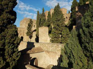 Die Alcazaba in Malaga