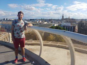Phillip Burmester in Sevilla