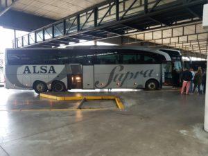 Mit Alsa Bus von Sevilla nach Faro